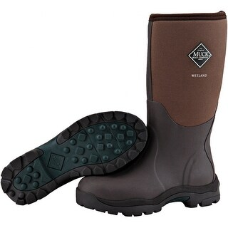 Refurbished Muck Boots Women's Wetlands w/ Breathable Airmesh Lining & Calf-High Extended Rubber Overlay