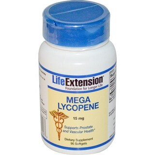 Life Extension - MEGA LYCOPENE EXTRACT 15 MG 90 SOFTGELS