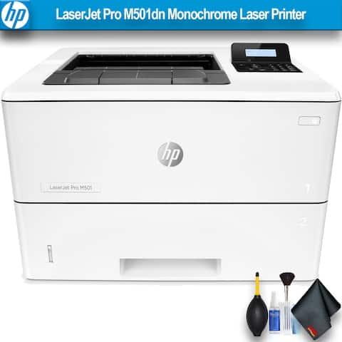 HP LaserJet Pro M501dn Monochrome Laser Printer Bundle