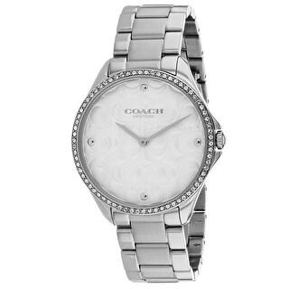 Coach Women's Modern Sport 14503066 White Dial watch