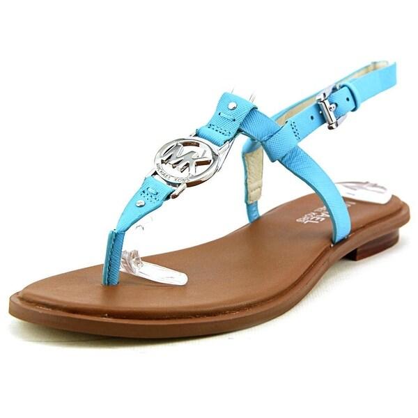 68afd423b21047 Shop Michael Michael Kors Sondra Thong Open Toe Leather Thong Sandal ...