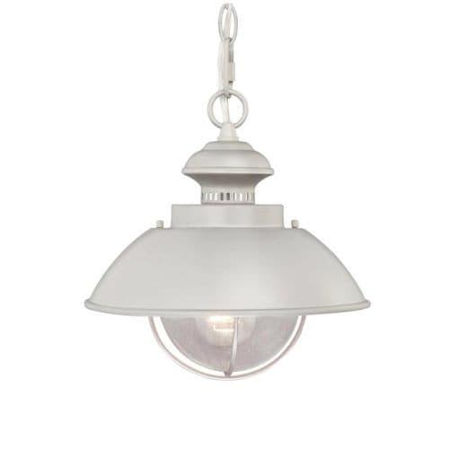 Vaxcel Lighting OD21518BN Harwich 1 Light Outdoor Pendant