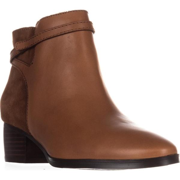 Lauren Ralph Lauren Damara Ankle Boots, Polo Tan/Snuff