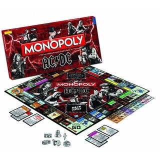AC/DC Monopoly Boardgame