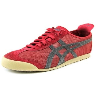 Onitsuka Tiger by Asics Mexico 66 Men Round Toe Synthetic Burgundy Sneakers