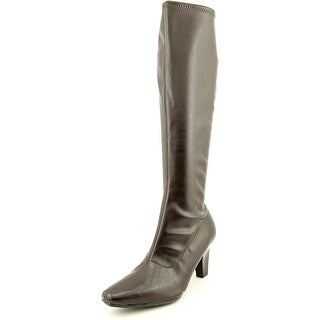 Aerosoles Risky Pizness Women  Pointed Toe Synthetic Brown Knee High Boot