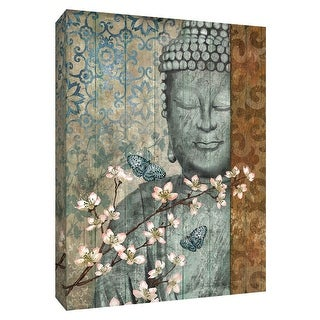 """PTM Images 9-148430  PTM Canvas Collection 10"""" x 8"""" - """"Buddha"""" Giclee Spiritual Art Print on Canvas"""