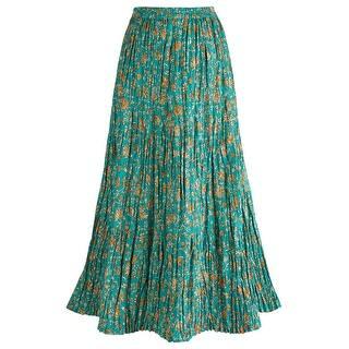 Women's Peasant Skirt - Traveler's Reversible Long Cotton Green Skirt|https://ak1.ostkcdn.com/images/products/is/images/direct/dba58666e1339378f72900c587e530602c701a0b/Women%27s-Peasant-Skirt---Traveler%27s-Reversible-Long-Cotton-Green-Skirt.jpg?impolicy=medium