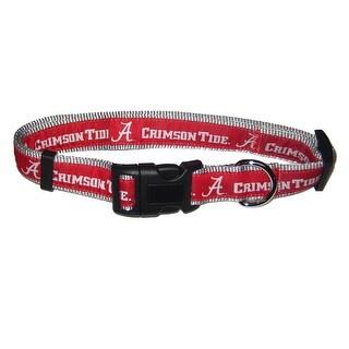 University of Alabama Nylon Adjustable Dog Collar