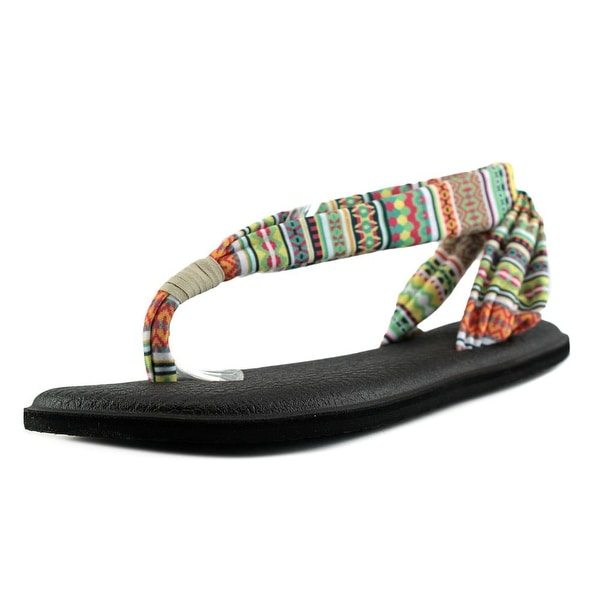 5fda9d011877 Shop Sanuk Yoga Sling 2 Women Citrus Lanai Sandals - Free Shipping ...