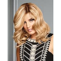 The Good Life by Raquel Welch - Remy Human Hair, Front Lace, Hand Tied - ss12-22  ss cappuccino