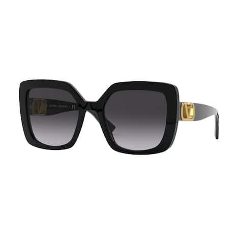 Valentino VA4065A 50018G 53 Black Woman Square Sunglasses