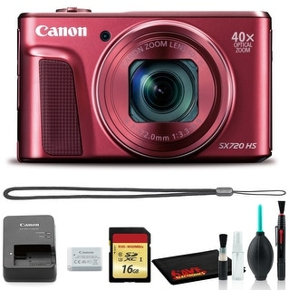 Link to Canon Powershot SX720 Digital Camera (Red) with Cleaning Kit and 16GB Similar Items in Digital Cameras
