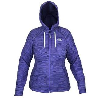 The North Face Women Novelty Mezzaluna Hoodie Basic Jacket Starry Purple