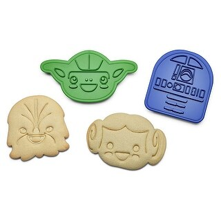 Star Wars Rebel Friends Cookie Cutters Set OF 6 - Multi