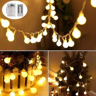 33ft 100 LEDs Battery Operated String Lights - Medium