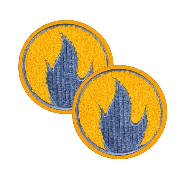 Team Fortress 2 Pyro Patches: Set of 2, Team Blu - YELLOW