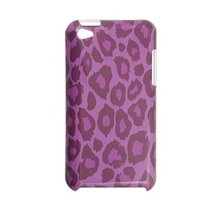 Plastic Leopard Print IMD Back Cover Phone Case for iPod Touch 4G