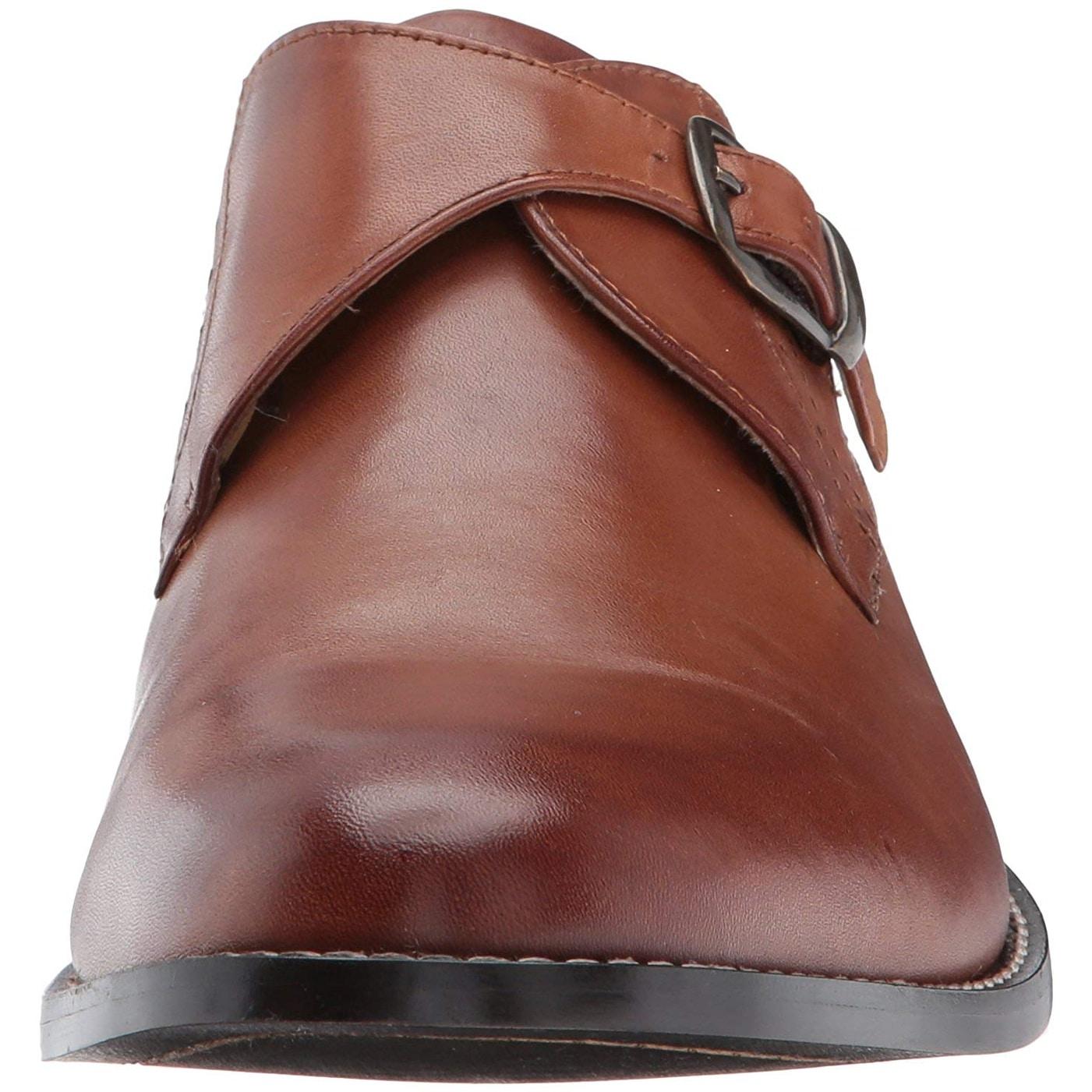 Nunn Bush Mens Sabre Monk Strap Slip-On Loafer