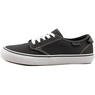 Vans Womens Camden Deluxe Canvas Low Top Lace Up Fashion, Grey, Size 9.0