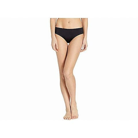 Nike Womens Swimwear Deep Black Size Medium M Hipster Bikini Bottom