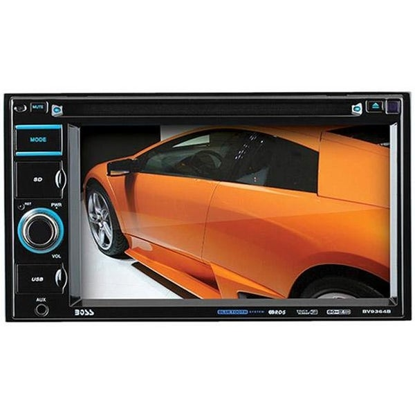 Boss BV9364B Double Din 6.2 In. Touchscreen Dvd Receiver