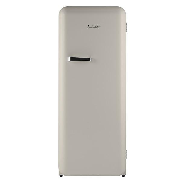iio 10 Cu. Ft. Auto Defrost Retro Refrigerator with Freezerette. Opens flyout.