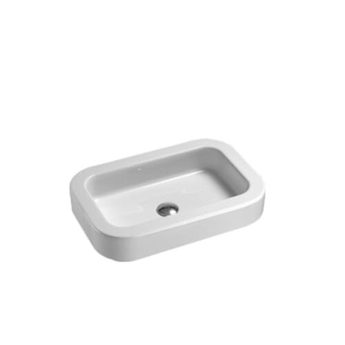 Nameeks 693711 Gsi 23 3 5 Ceramic Vessel Sink With Overflow Less