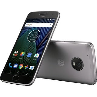 Motorola Moto G5 Plus 32Gb Unlocked Smartphone - Lunar Gray