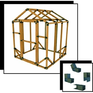 6X6 E-Z Frame Standard Greenhouse or Storage Shed Structure Kit