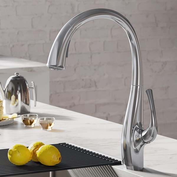 Kraus KPF-1675 Ansel 2-Function 1-Handle Pulldown Kitchen Faucet. Opens flyout.