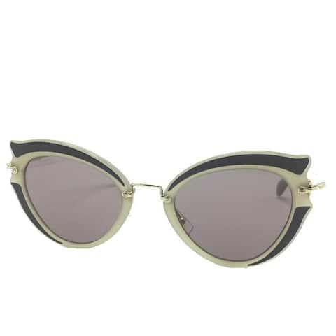 Miu Miu Prada Classic Women's Gray Cat Eye Sunglasses SMU05S