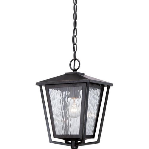 Quoizel ALF1910IB Alfresco Large Hanging Lantern, Imperial Bronze Finish - Imperial Bronze