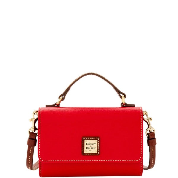 Dooney & Bourke Saffiano Small Mimi Crossbody (Introduced by Dooney & Bourke at $168 in Sep 2016) - Red