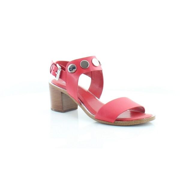 Michael Kors Reggie Mid Sandals Women's Sandals & Flip Flops Bright Red