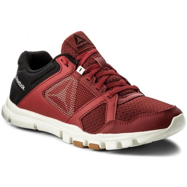 Shop Reebok Mens yourflex train 10 mt Low Top Lace Up Running ... 7c69028f8