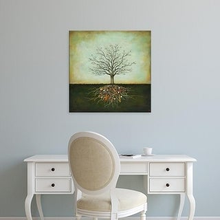 Easy Art Prints Duy Huynh's 'Strung Together' Premium Canvas Art