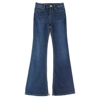 SP Black Label NEW Blue Women's Size 28X32 Flare Leg Denim Jeans