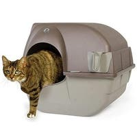 Omega Paw In  Roll N Clean Self Cleaning Litter Box - Large