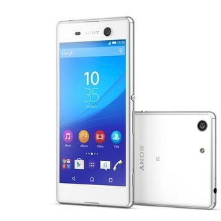 Sony Xperia M5 E5606 16GB 5-inch 4G LTE Factory Unlocked (White)LATAM Version