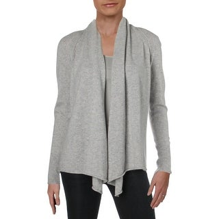 Link to Aqua Women's Cashmere Open Front Long Sleeve Cardigan Sweater Similar Items in Women's Sweaters