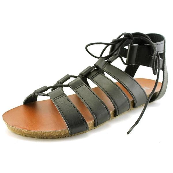 Mia Shela Women Open Toe Synthetic Gladiator Sandal