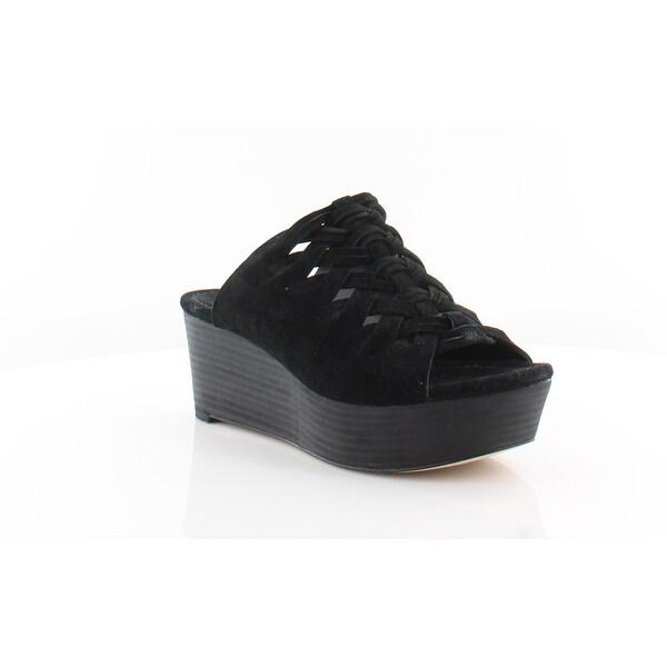 Michael Kors Westley Slide Women's Heels Black - 7.5