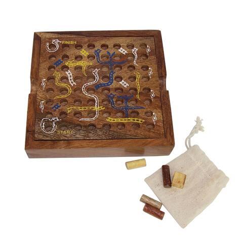 Handmade Snake and Ladders Game
