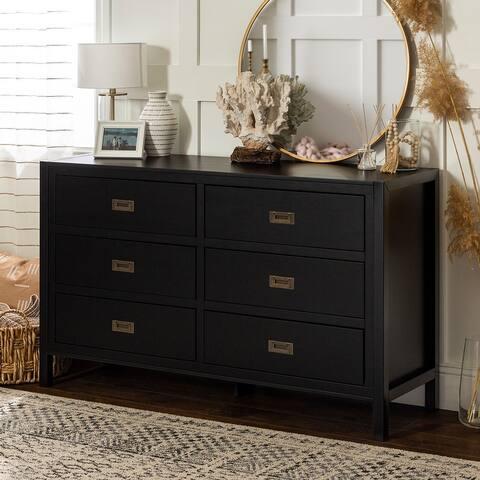 Carson Carrington Modern 6-drawer Solid Pine Dresser