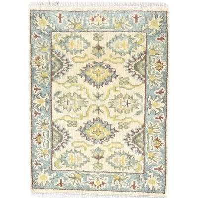 One of a Kind Hand-Knotted Persian 2' x 3' Oriental Wool Beige Rug - 2' x 3'