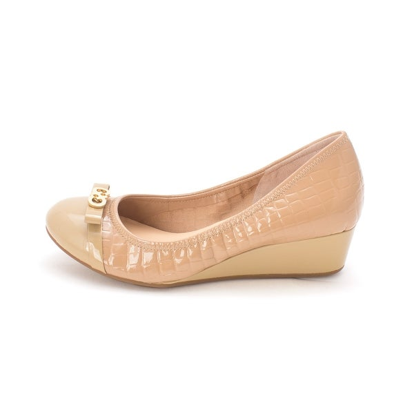 Cole Haan Womens Tammiesam Cap Toe Wedge Pumps - 6