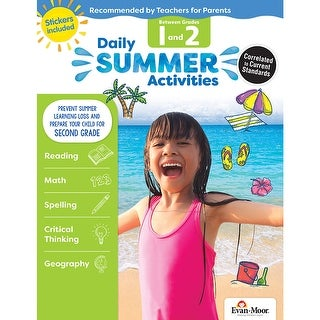 Moving From 1St To 2Nd Grade Daily Summer Activities