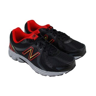 New Balance M450 Mens Black Mesh Lace Up Lace Up Sneakers Shoes