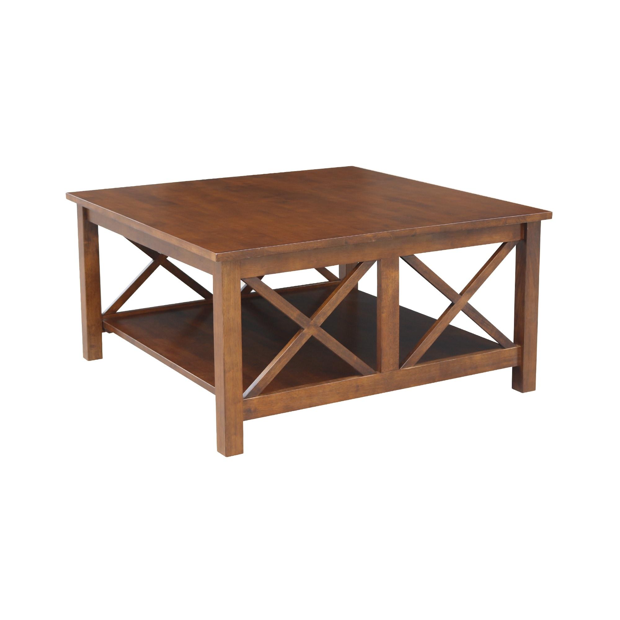 Hampton Solid Hardwood Square Coffee Table 36 X 36 36 X 36 On Sale Overstock 9330439
